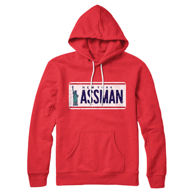 Assman Hoodie-Red - Famous IRL