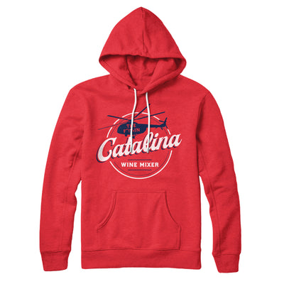 The Catalina Wine Mixer Hoodie-Red - Famous IRL
