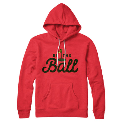 Be The Ball Hoodie-Red - Famous IRL