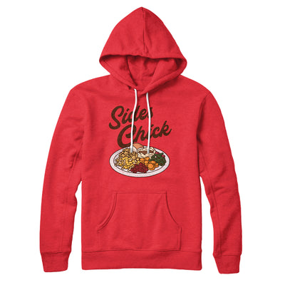 Sides Chick Hoodie