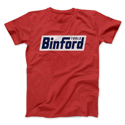 Binford Tools Men/Unisex T-Shirt-Red - Famous IRL