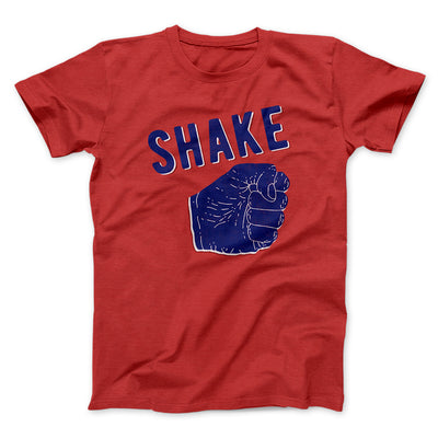 Shake Men/Unisex T-Shirt-Red - Famous IRL