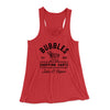 Bubbles Shopping Carts Women's Flowey Racerback Tank Top-Red - Famous IRL