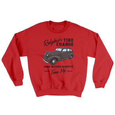 Ralphie's Tire Change Ugly Sweater