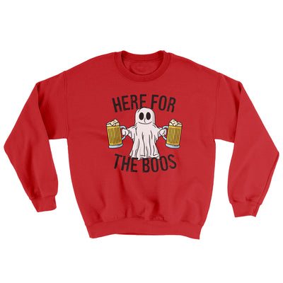 Here For The Boos Ugly Sweater