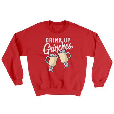 Drink Up Grinches Ugly Sweater