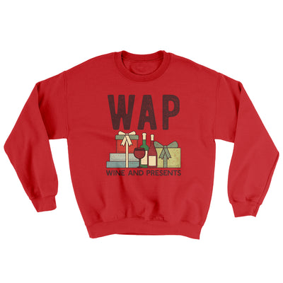 WAP- Wine & Presents Ugly Sweater