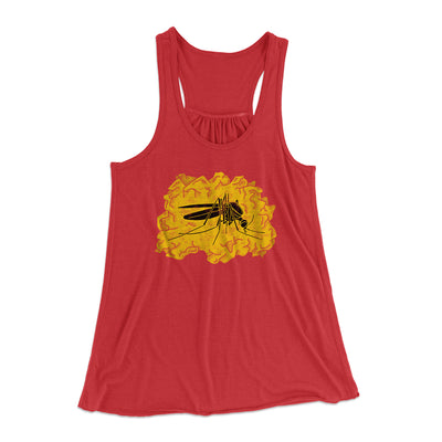 Amber Mosquito Women's Flowey Racerback Tank - Famous IRL Funny and Ironic T-Shirts and Apparel