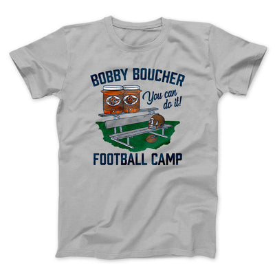 Bobby Boucher Football Camp Men/Unisex T-Shirt-Silver - Famous IRL