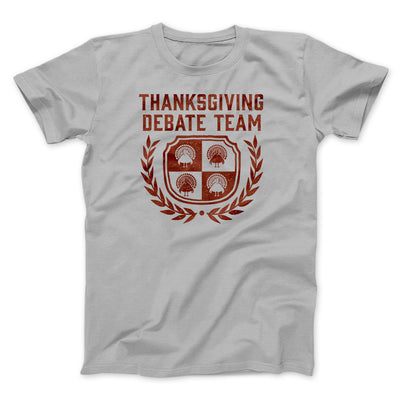 Thanksgiving Debate Team Men/Unisex T-Shirt