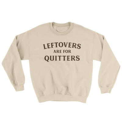 Leftovers Are For Quitters Ugly Sweater