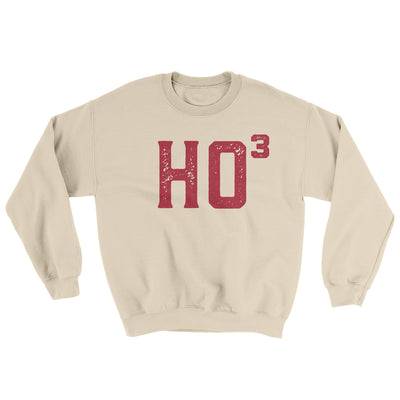 Ho Cubed Men/Unisex Ugly Sweater-Sand - Famous IRL