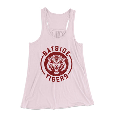 Bayside Tigers Women's Flowey Racerback Tank - Famous IRL Funny and Ironic T-Shirts and Apparel