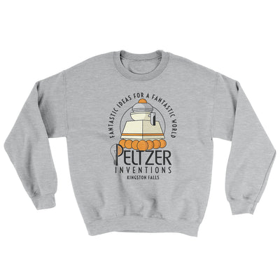 Peltzer Inventions Ugly Sweater-Ugly Sweater-White Label DTG-Sport Grey-S-Famous IRL