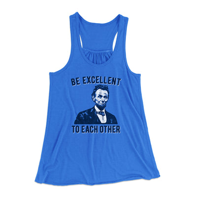 Be Excellent To Each Other Women's Flowey Tank