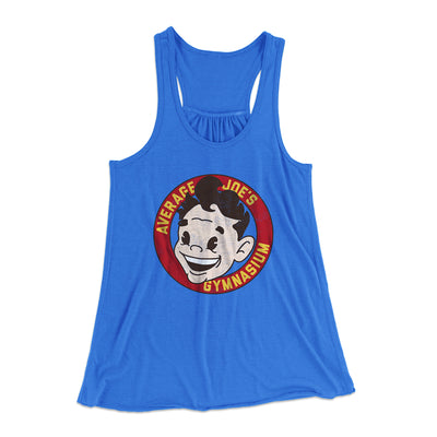 Average Joe's Gymnasium Women's Flowey Racerback Tank - Famous IRL Funny and Ironic T-Shirts and Apparel