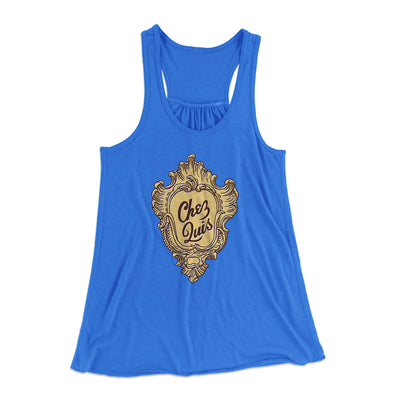 Chez Quis Women's Flowey Tank-True Royal - Famous IRL