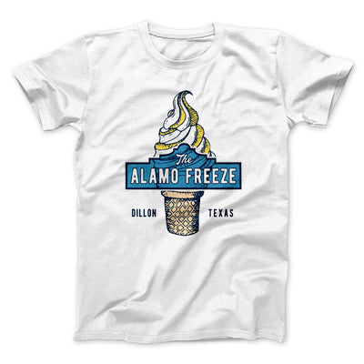 The Alamo Freeze Men/Unisex T-Shirt-White - Famous IRL