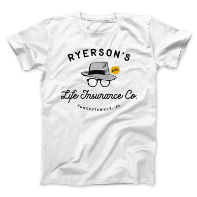 Ryerson's Life Insurance Men/Unisex T-Shirt-White - Famous IRL