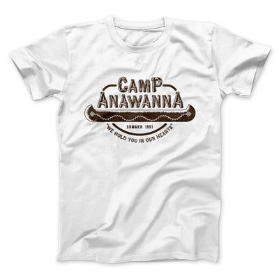 Camp Anawanna Men/Unisex T-Shirt - Famous IRL Funny and Ironic T-Shirts and Apparel