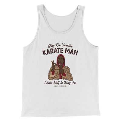 Billy Ray Valentine Karate Man Men/Unisex Tank-White - Famous IRL