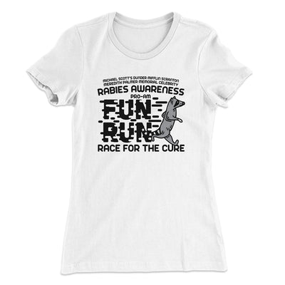 Rabies Awareness Women's T-Shirt-Solid White - Famous IRL