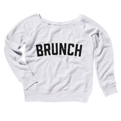 Brunch Women's Off The Shoulder Sweatshirt