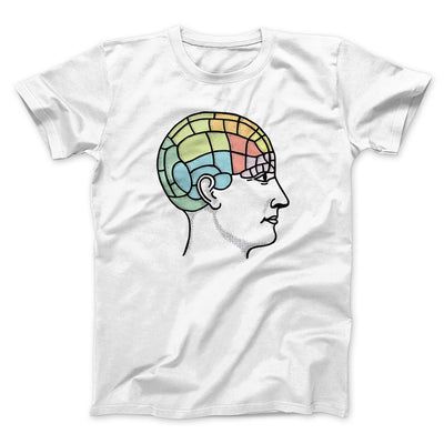 Phrenology Chart Men/Unisex T-Shirt-White - Famous IRL