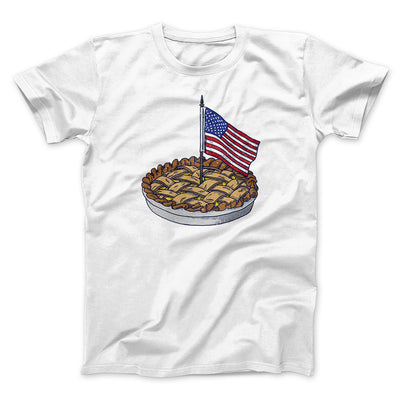 American Apple Pie Men/Unisex T-Shirt-White - Famous IRL