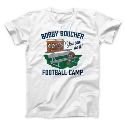 Bobby Boucher Football Camp Men/Unisex T-Shirt-White - Famous IRL