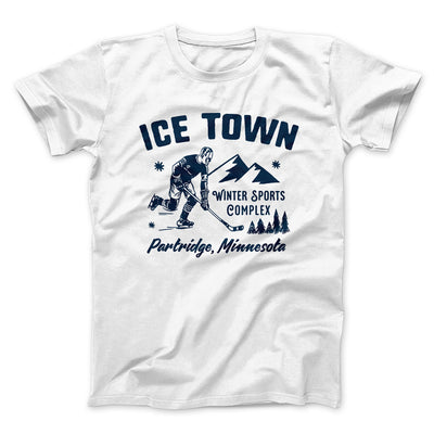 Ice Town Sports Complex Men/Unisex T-Shirt-White - Famous IRL