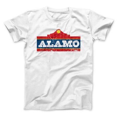 Alamo Beer Men/Unisex T-Shirt-White - Famous IRL