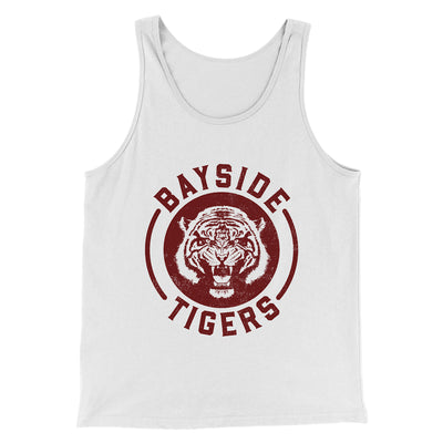 Bayside Tigers Men/Unisex Tank Top - Famous IRL Funny and Ironic T-Shirts and Apparel