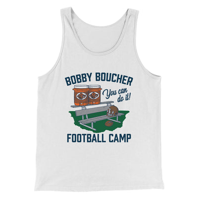 Bobby Boucher Football Camp Men/Unisex Tank - Famous IRL Funny and Ironic T-Shirts and Apparel