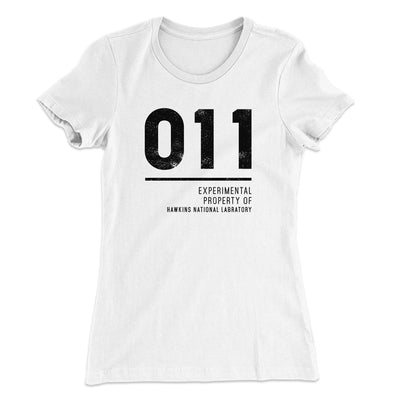 Experimental Property 011 Women's T-Shirt-Solid White - Famous IRL