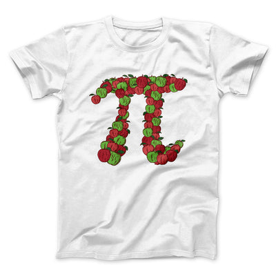 Apple Pi Men/Unisex T-Shirt-White - Famous IRL