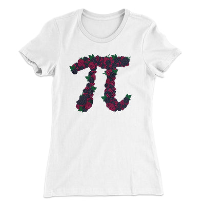 Raspberry Pi Women's T-Shirt-Solid White - Famous IRL