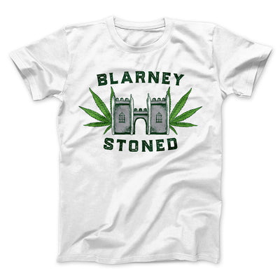 Blarney Stoned Men/Unisex T-Shirt - Famous IRL Funny and Ironic T-Shirts and Apparel