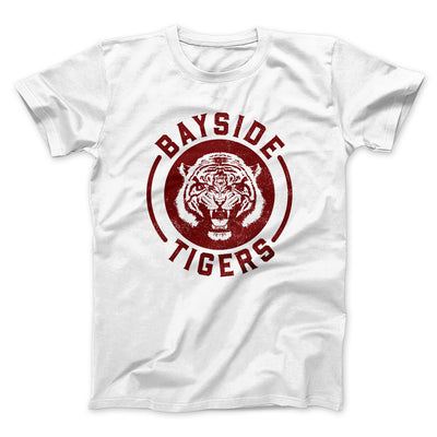 Bayside Tigers Men/Unisex T-Shirt - Famous IRL Funny and Ironic T-Shirts and Apparel