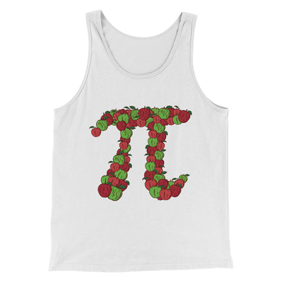 Apple Pi Men/Unisex Tank - Famous IRL Funny and Ironic T-Shirts and Apparel