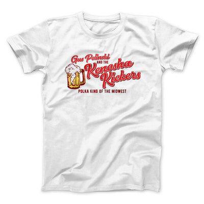 Kenosha Kickers Men/Unisex T-Shirt-White - Famous IRL