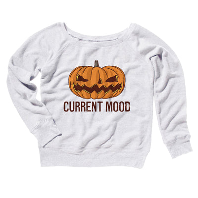 Current Mood Women's Scoopneck Sweatshirt