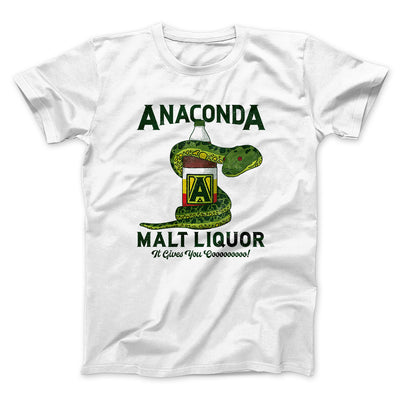 Anaconda Malt Liquor Men/Unisex T-Shirt - Famous IRL Funny and Ironic T-Shirts and Apparel