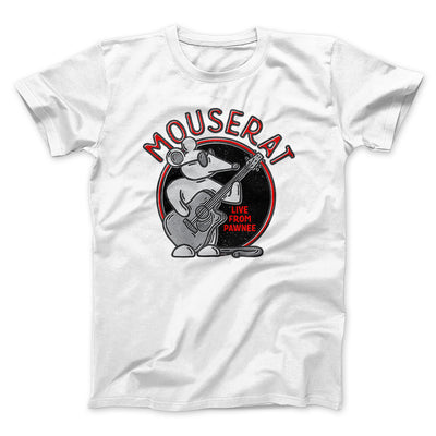 Mouse Rat Men/Unisex T-Shirt-White - Famous IRL