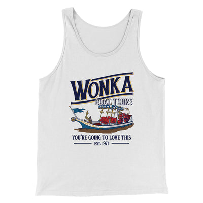 Wonka Boat Tours Men/Unisex Tank Top