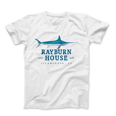 Rayburn House Men/Unisex T-Shirt-White - Famous IRL