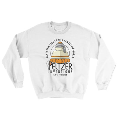 Peltzer Inventions Ugly Sweater-Ugly Sweater-White Label DTG-White-S-Famous IRL