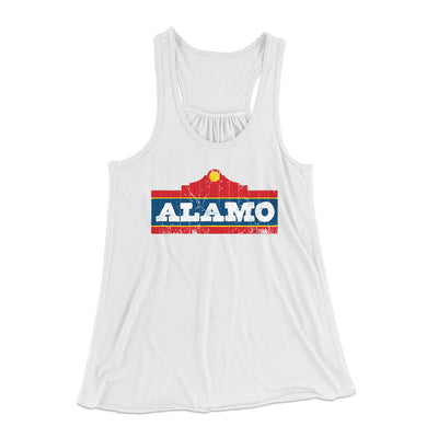 Alamo Beer Women's Flowey Racerback Tank - Famous IRL Funny and Ironic T-Shirts and Apparel
