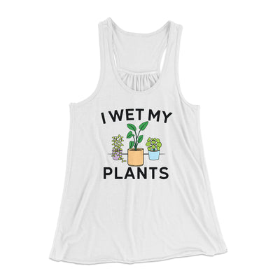 I Wet My Plants Women's Flowey Tank