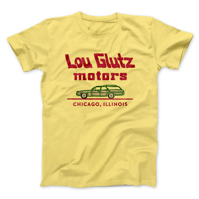 Lou Glutz Motors Men/Unisex T-Shirt-Yellow - Famous IRL
